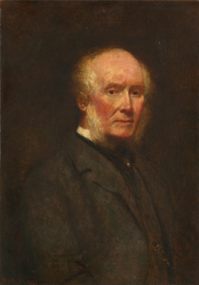 Beehives Powell Fright Great Britain 1819-1909. Self-portrait in 83 years. Yale Center for British Art, New Haven