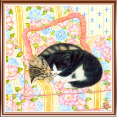 Джон Мартинес. Коты