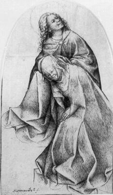 Иероним Босх. Дева Мария и Святой Иоанн