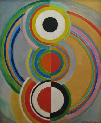 Sonia Delaunay. Rythme