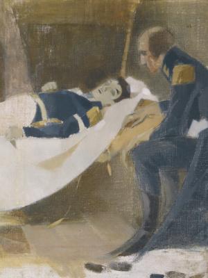 Helena Sophia Scherfbek. Death of Wilhelm von Schwerin