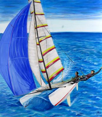Дмитрий Еременко. Catamaran Tornado