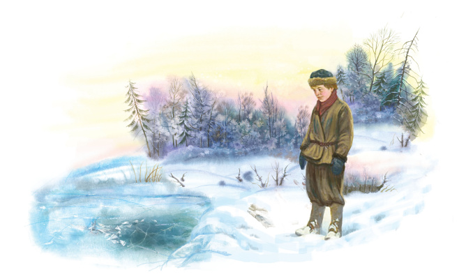 Vitaly Vasilevich Dudarenko. Winter