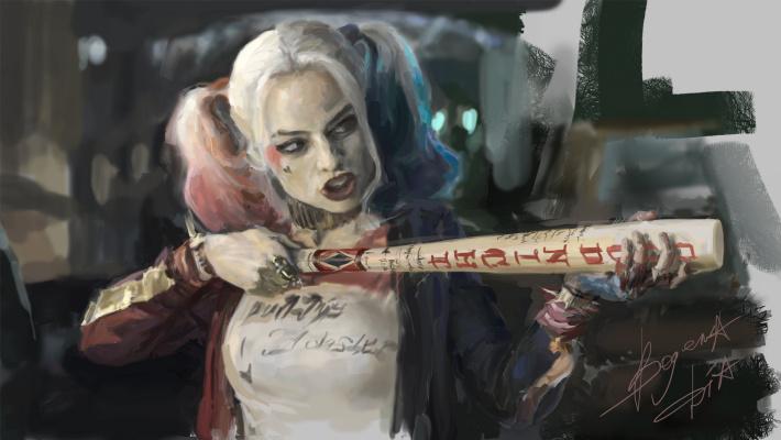 Bozhena Igorevna Dodu. Harley Quinn