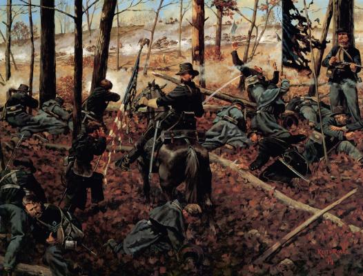 Кит Рокко. Гражданская война Америки 14