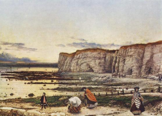 Уильям Дайс. Залив Пегвелл в Кенте - воспоминание о 5 октября 1858 г.