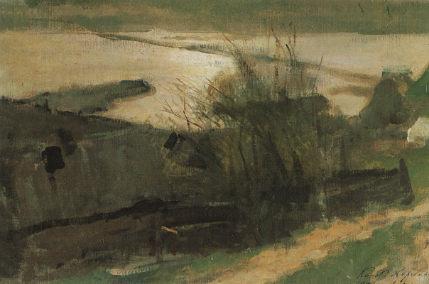 Konstantin Korovin. On The Oka River. Etude