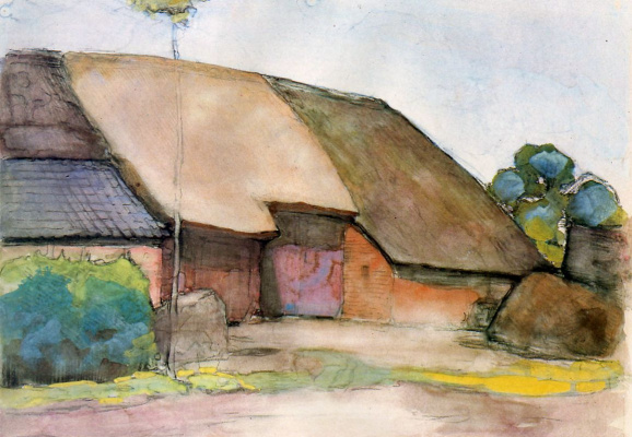 Piet Mondrian. Little farm in Nistelrode