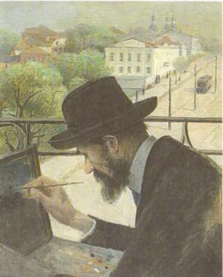 Юдель Пэн. Портрет Иосифа Туржанского