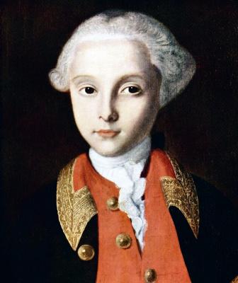 Ivan Yakovlevich Vishnyakov. Portrait Of William George Fermor. Fragment