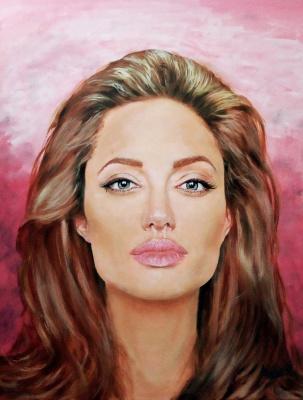 Argishti. Portrait of Angelina Jolie
