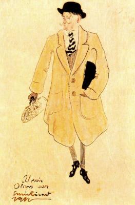 Энрик Рикарт. Черная шляпа