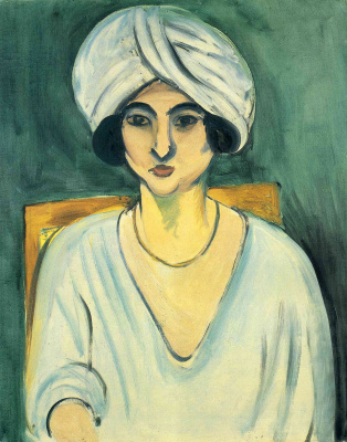 Henri Matisse. The woman in the turban