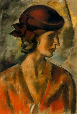 Arturo Souto. The lady in the hat