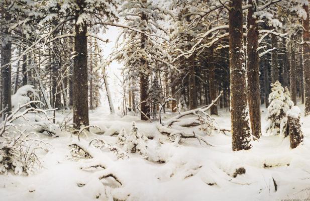 Ivan Ivanovich Shishkin. Winter
