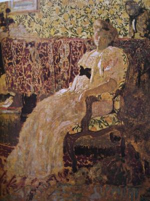 Jean Edouard Vuillard. Portrait of Mysia Nathanson