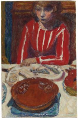 Пьер Боннар. Женщина за столом