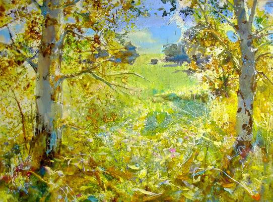 Evgeny Anatoleviz Babushkin. Sunny Paradise