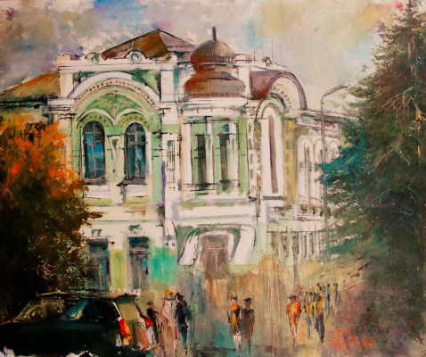 Alexander Alekseevich Lednev. College building