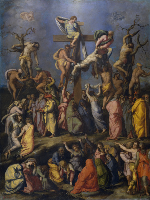 Alessandro Allori. The descent from the cross