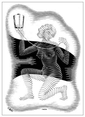 Maurits Cornelis Escher. Christmas card