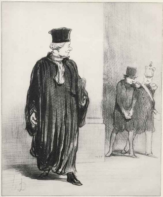 Honore Daumier. Maturing client