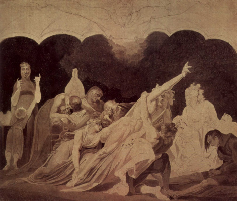 Johann Heinrich Fuessli. Vision in exile