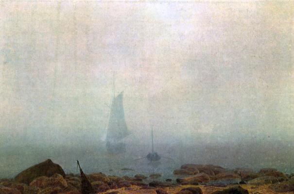 Caspar David Friedrich. Fog