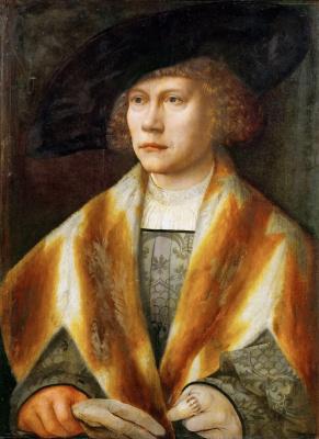 Bernart Van Orley. Portrait of a young man