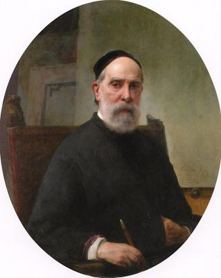 Франческо Айец. Автопортрет в 88 лет