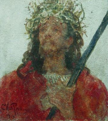 Ilya Efimovich Repin. Jesus in a crown of thorns
