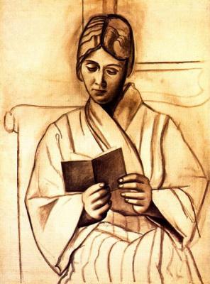 Пабло Пикассо. Читающая женщина (Ольга)