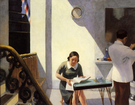Edward Hopper. Barber