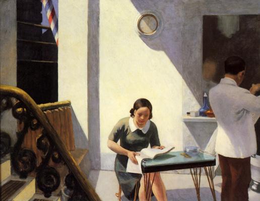 Edward Hopper. Barber