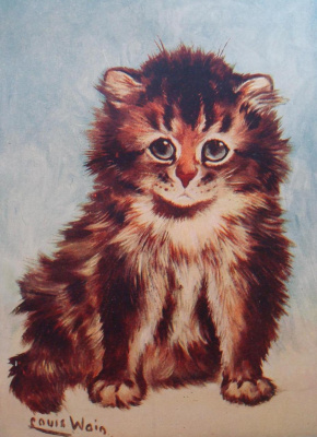 Louis Wain. How beautiful is this world! ..