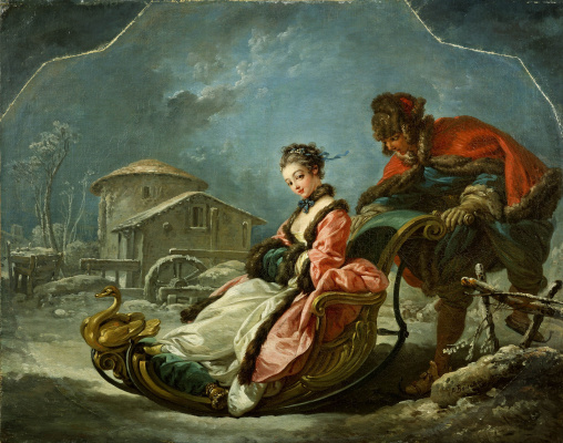 Francois Boucher. Four seasons: Winter