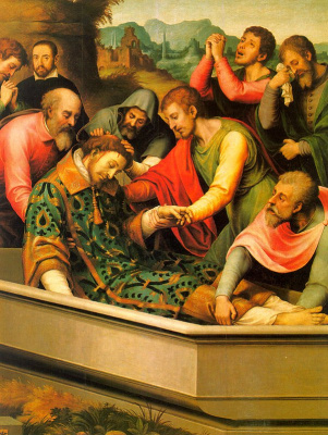Хуан де Хуанес. Молитва о спасении