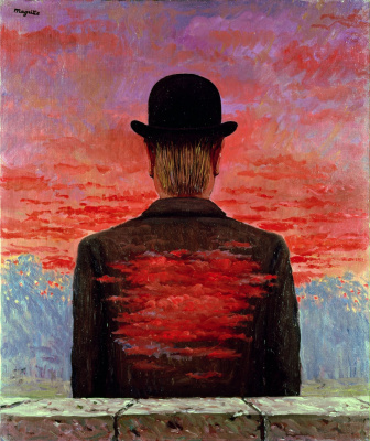René Magritte. The remuneration of the poet