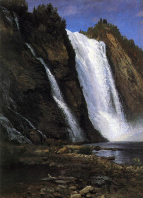 Альберт Бирштадт. Горный водопад