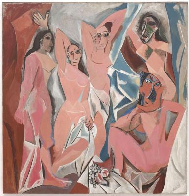 Pablo Picasso. Les demoiselles d'Avignon
