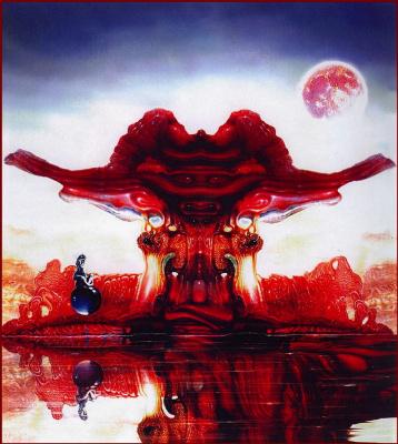 Роберт Веносса. Красная Луна