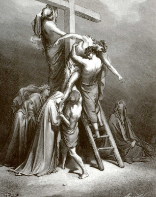 Illustration to the Bible: The Descent from the Cross