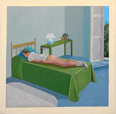 David Hockney. Room in Tarzana