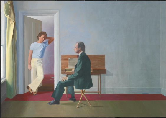 David Hockney. George Lawson and Wayne Sleep