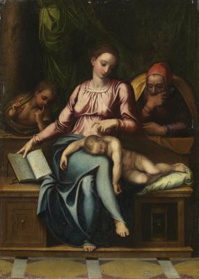Святое семейство с Иоанном Крестителем
