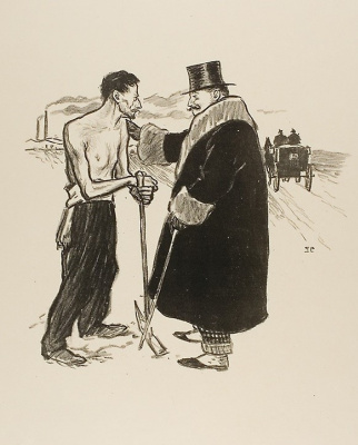 Theophile-Alexander Steinlen. It's your duty!..
