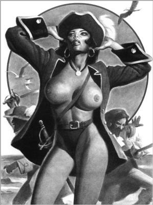 Ллопис. Девушка-пират