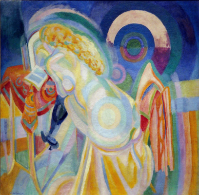Robert Delaunay. Nude at Dressing Table