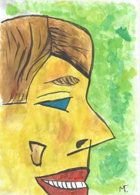 German Meister. Голубые глаза(blue eyes)