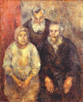 Ева Павловна Левина-Розенгольц. Старые евреи